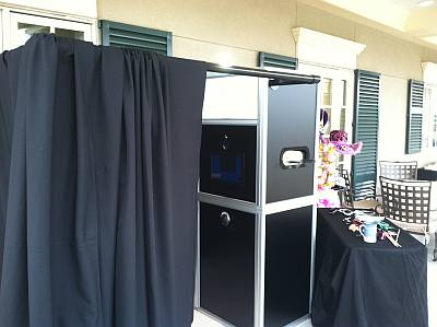Curtained Photo Booths